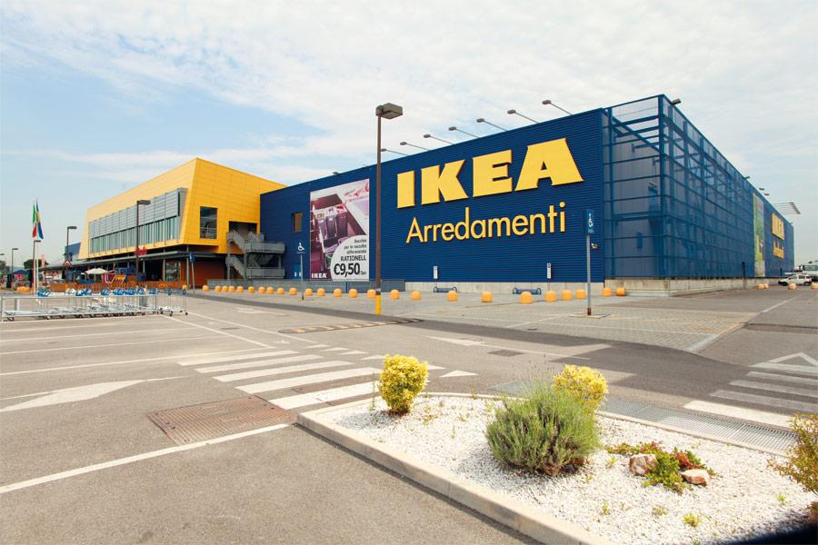 Lavori effettuati nel settore edile terziario ed for Ikea firenze